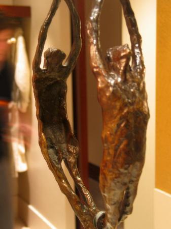 Park Hyatt Paris - Vendome: these little bronze sculptures are everywhere