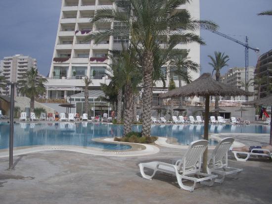 Hotel RH Ifach : The pool area