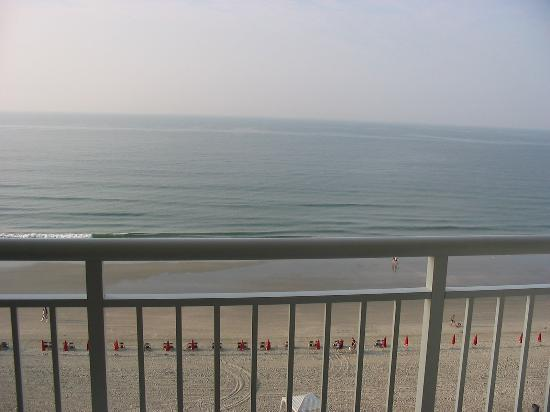 Ocean Drive Beach and Golf Resort: Early morning view from 10th floor balcony