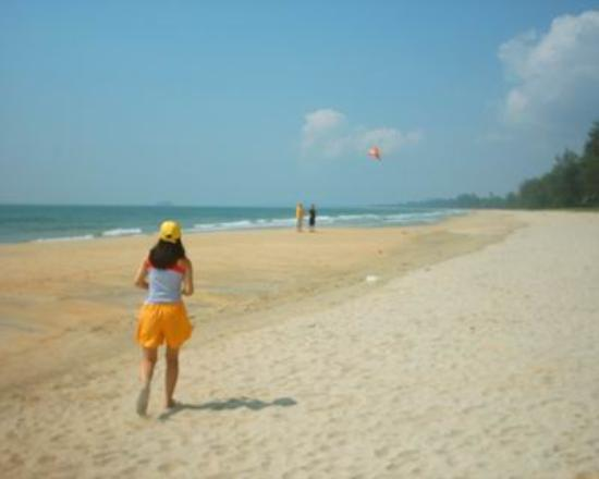 Holiday Villa Beach Resort & Spa Cherating: Flying kites on Cherating beach
