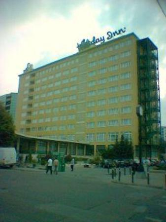 Holiday Inn - Skopje: outside holiday inn