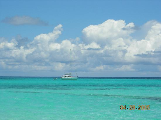 The Valley, Anguilla: View at Shoal Bay