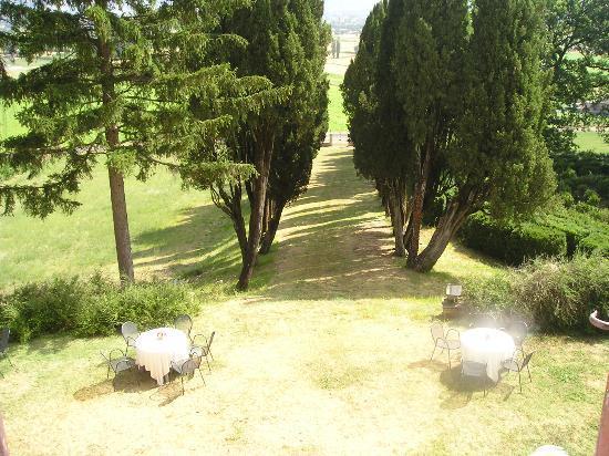 Hotel Villa Montegranelli: Room with a view!