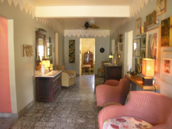 Casa de Amistad: Common area on First Floor