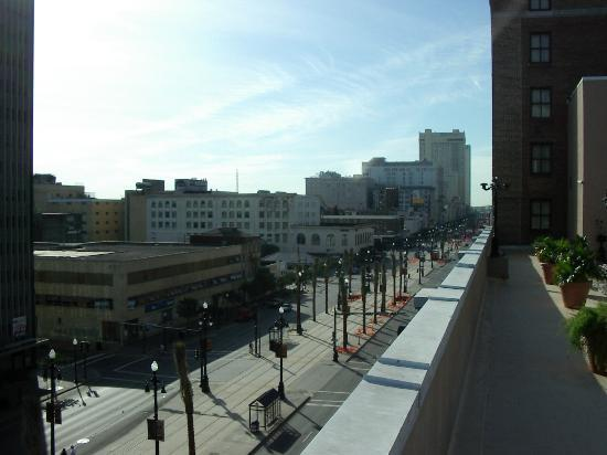 """Park Plaza New Orleans: A view of the so called bad area """"Canal Street"""""""