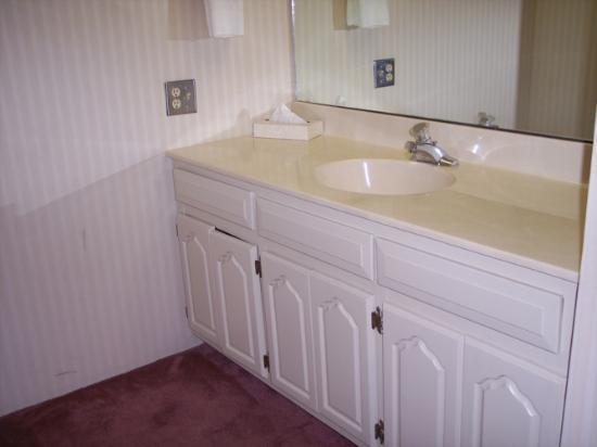 Alcoa Inn: Bath Vanity