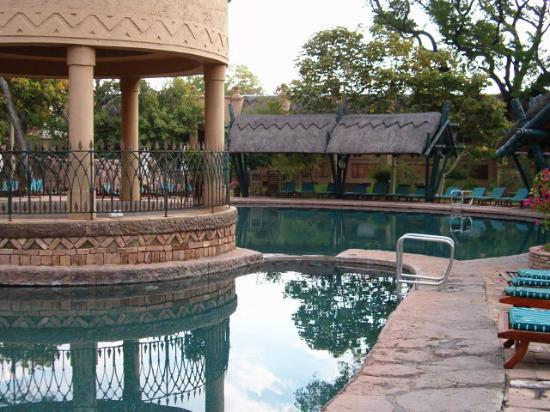 The Kingdom at Victoria Falls: the pool