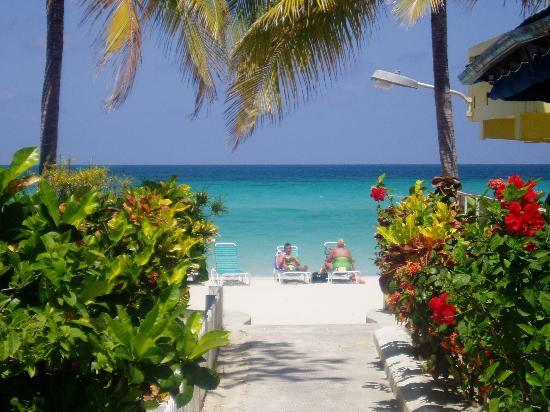 White Sands Negril: From the hotel to the beach