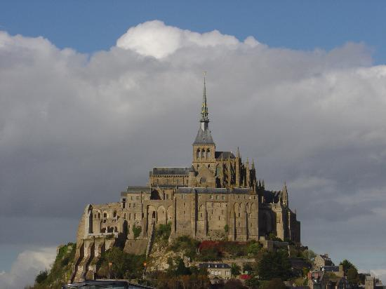 Mont-Saint-Michel, Prancis: A true postcard shot