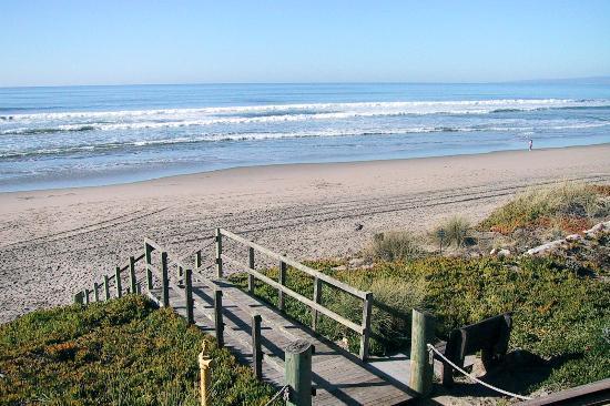 Pajaro Dunes Resort Boardwalk To Beach