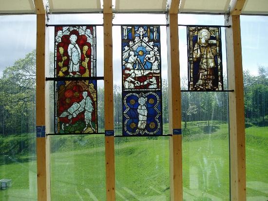 The Burrell Collection: Stained glass panels