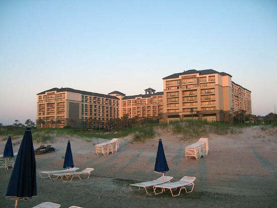 The Ritz-Carlton, Amelia Island: The Ritz at sunrise.