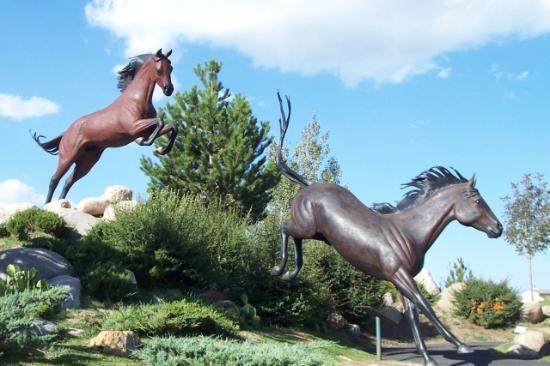 Ruidoso, Nuevo Mexico: Horse Sculpture