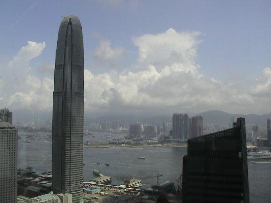 Island Shangri-La Hong Kong: view from Bank of China viewing platform