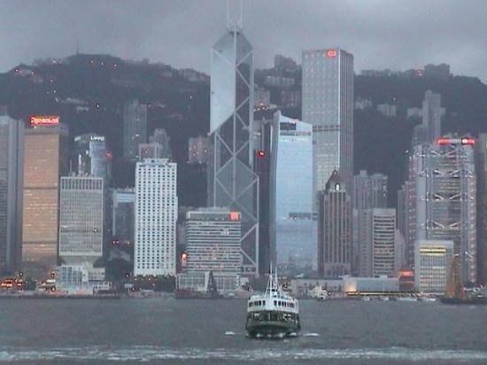 Island Shangri-La Hong Kong: Hong Kong Island skyline from the Star Ferry