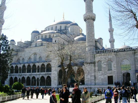 Blaue Moschee (Sultan-Ahmed-Moschee): Another view of the Blue Mosque