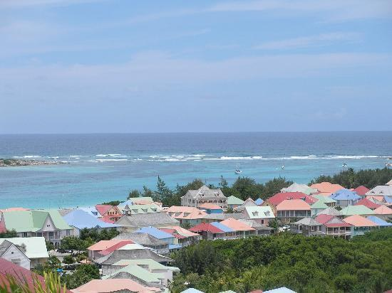 Green Cay Villas: View of Orient Bay
