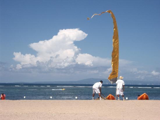 Grand Mirage Resort and Thalasso Bali : Beach at Grand Mirage