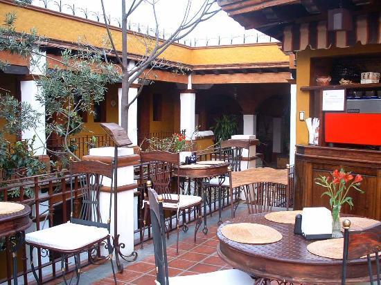 Hotel Casa del Sotano: Cafe