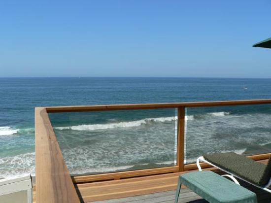 last room with private deck before you get to beach. Black Bedroom Furniture Sets. Home Design Ideas