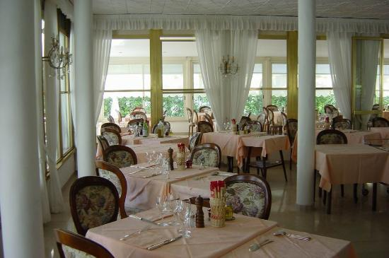 Hotel Verdemare: The restaurant