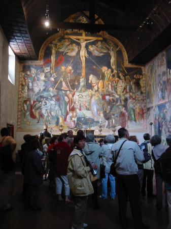 Hotel San Giovanni: Inside the Oratory of San Giovanni Battista