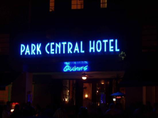 The Park Central: Hotel at Night