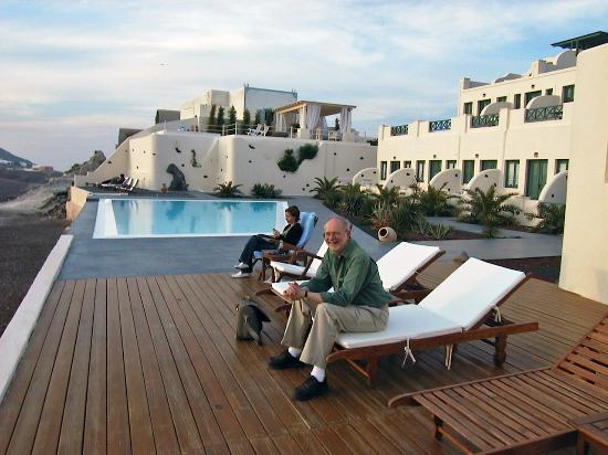 Anastasis Apartments: First Evening by the Pool