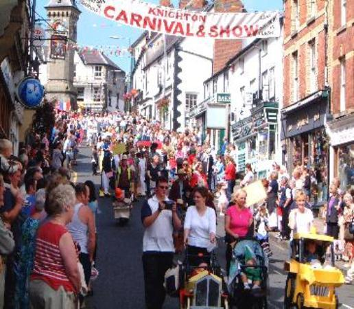 Knighton, UK: Carnival,last saturday in august.