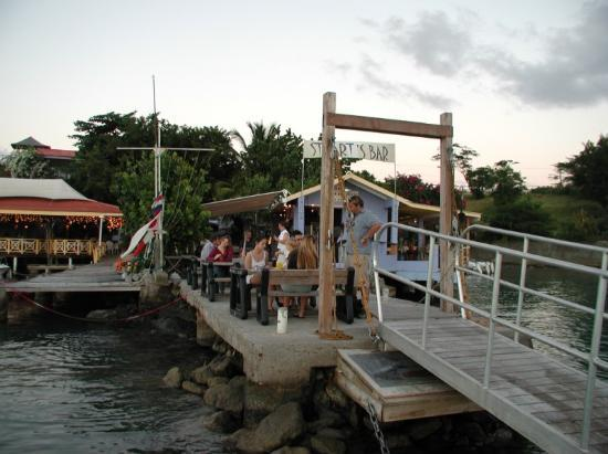 True Blue Bay Boutique Resort: Probably the best bar in the Caribbean