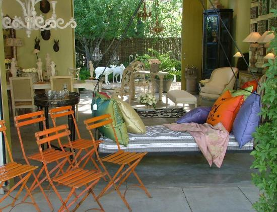 Healdsburg, Kalifornien: Vintage Garden Party Chairs