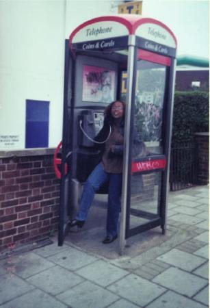 Londres, UK: phone booth