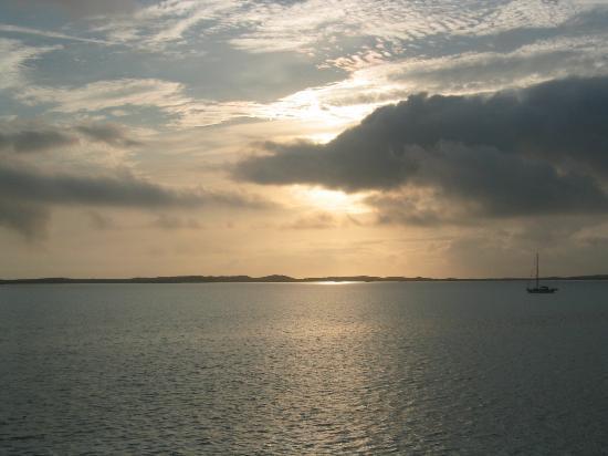 Regatta Point: sun rise from balcony