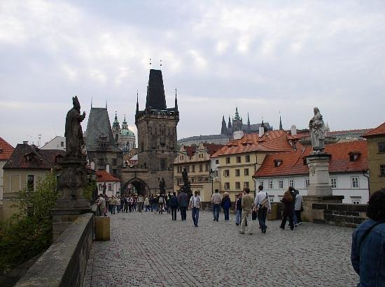 Прага, Чехия: The Charles Bridge