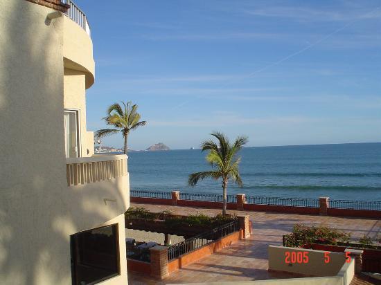 Hotel Playa Mazatlan : View from Balcony Ocean View