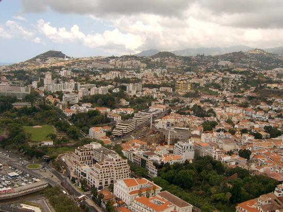 Funchal from the balloon