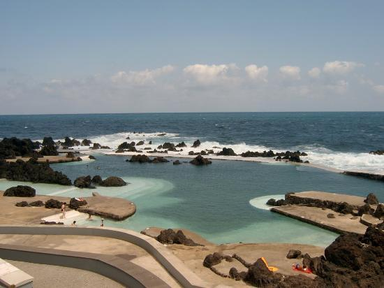 Funchal, Portugalia: Lava Pools