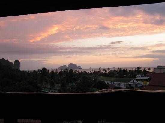 Vogue Resort & Spa Ao Nang: View from Balcony (Sunset)
