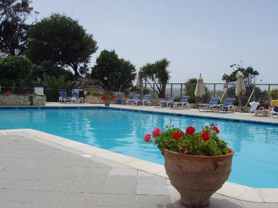 The Phoenicia Malta: The peaceful swimming pool