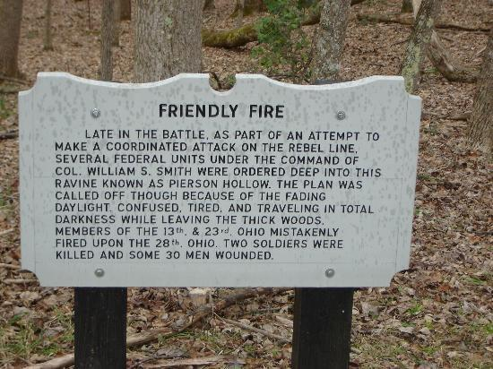 Carnifex Ferry Battlefield State Park: Friendly Fire