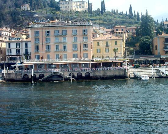 Hotel Metropole Bellagio: The Metropole From The Ferry