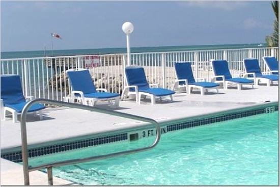 Key Colony Beach Motel: The pool