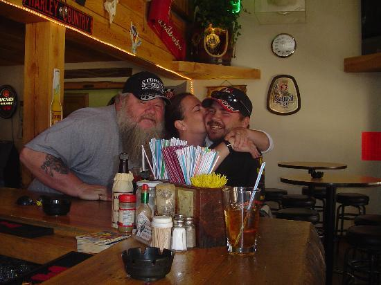 Idaho City, Айдахо: Very friendly bartender