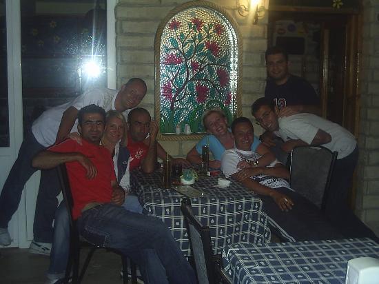 Ekin Hotel : us with the staff