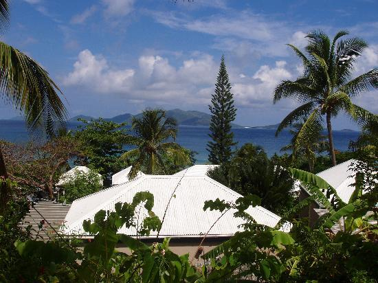 Sugar Mill Hotel: View of Jost from room
