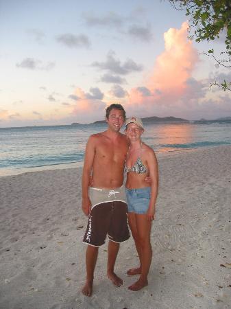Palm Island Resort & Spa : Sunset
