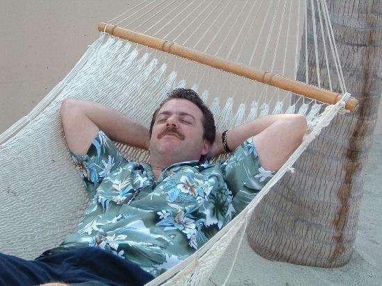 Villa del Palmar Flamingos : hammocks on beach( aaahhhh)