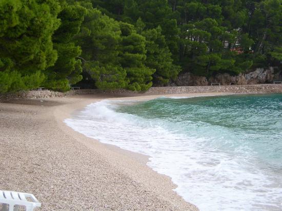 Bluesun Hotel Marina: beach outside hotel marina