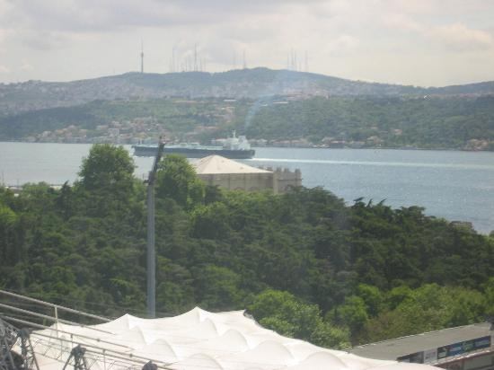 The Ritz-Carlton, Istanbul: The view from our room (407)