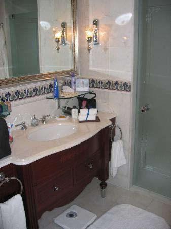 The Ritz-Carlton, Istanbul: The bathroom again